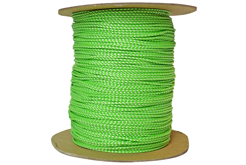 TL-PD-251000 Jameson Neon Green and White Throw Line