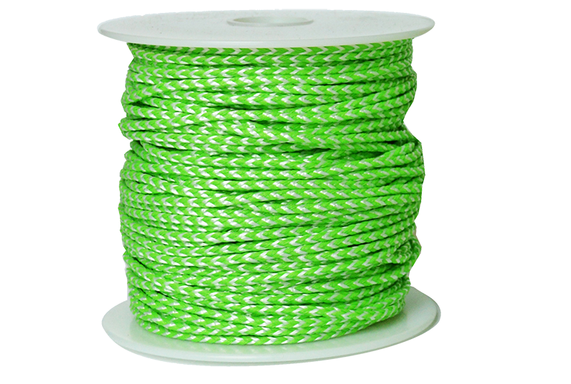 TL-PD-25180 Jameson Neon Green and White Throw Line
