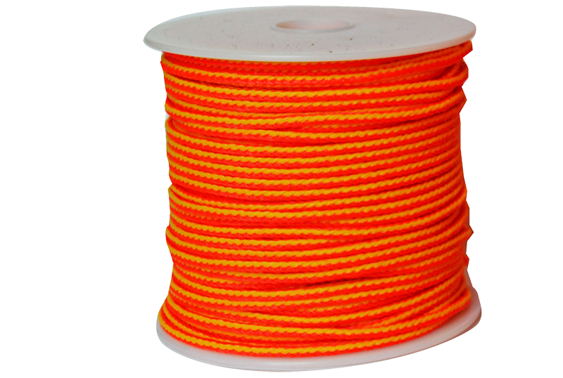 TL-PE-18200 Jameson Neon Orange and Yellow Throw Line