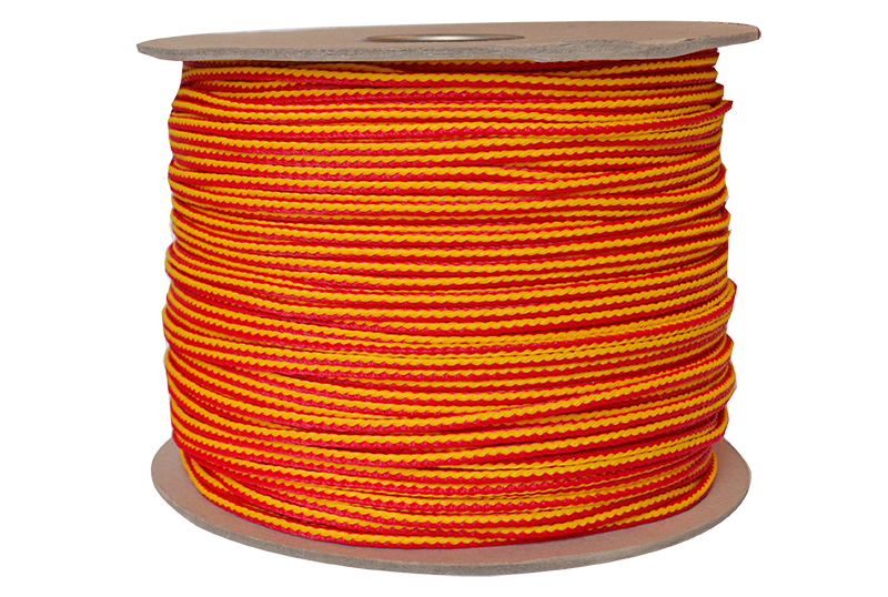 TL-PE-5321000 Jameson Neon Red and Yellow Throw Line